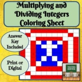 Multiplying Integers - Dividing Integers - Distance Learni