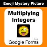 Multiplying Integers - EMOJI Mystery Picture - Google Forms