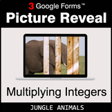 Multiplying Integers - Google Forms Math Game | Distance Learning