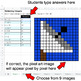 Multiplying Integers - Google Sheets Pixel Art - Outer Space