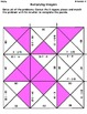 Multiplying Integers Grid Puzzle- 7.NS.2a