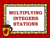 Multiplying Integers Stations