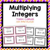 Integer Task Cards Multiplication