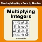 Thanksgiving Math: Multiplying Integers - Math & Art - Dra