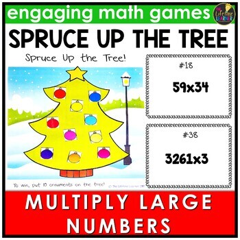 Multiplying Multi-Digit Numbers Game