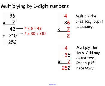 Multiplying Large Whole Numbers SMARTboard Openings