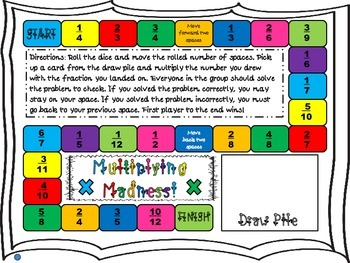 Multiplying Madness: Multiplying Fractions by a Whole Numb