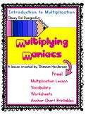 Multiplying Maniacs-- Introducing Multiplication Skills 3.OA.1