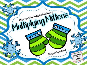 Multiplying Mittens:  Multiplication Fact Fluency Game