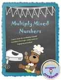 Multiplying Mixed Numbers Notes & Practice; Fun, Engaging Practice