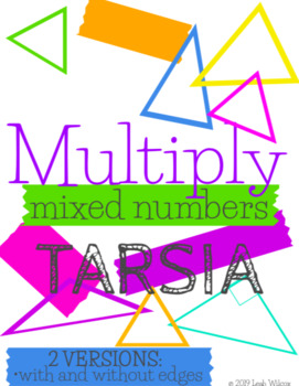 Multiplying Mixed Numbers Tarsia Activity