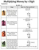 Multiplying Money by 1 Digit - 5.NBT.B.5