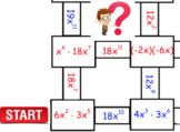 Multiplying Monomials Maze