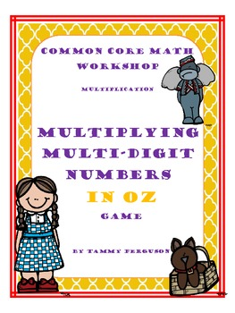 Multiplying Multi-Digit Numbers