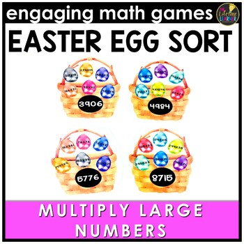 Multiplying Multi-Digit Numbers Game