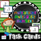 Multiplying Multi-Digit Numbers Activity