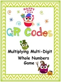 Multiplying Multi-Digit Numbers (with and without QR Codes)