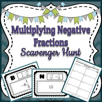 Multiplying Negative Fractions (Rational Numbers) 7.NS.A.2