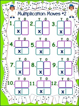 Multiplication Games With A Fun Twist for Upper Elementary