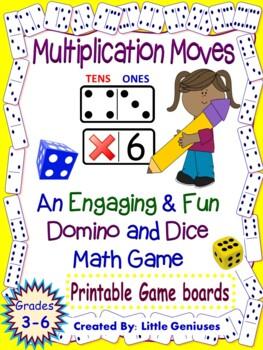 Multiplication Games Using Dice