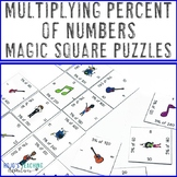 Percent of a Number Activity | Percent of a Number Puzzle