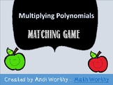 Multiplying Polynomial - Matching Game