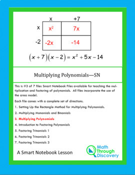 Algebra:  Multiplying Polynomials