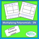 Algebra 1 - Multiplying Polynomials - sn