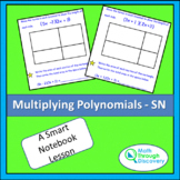 Algebra 1 - Multiplying Polynomials - sn