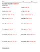 Multiplying Polynomials ALGEBRA Worksheet