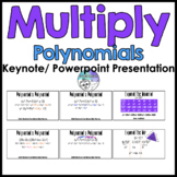 Multiplying Polynomials & Binomial Expansion Keynote/ Powe