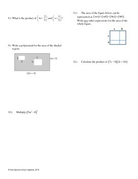 Multiplying Polynomials Challenge