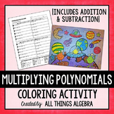 Multiplying Polynomials (FOIL) Coloring Activity