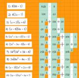 Multiplying Polynomials - Google Classroom Ready!
