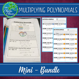 Multiplying Polynomials - Notes, Scavenger Hunts & an Assessment