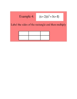 Multiplying Polynomials Lesson