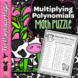 Multiplying Polynomials Math Puzzle