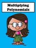 Multiplying Polynomials No Prep Lesson