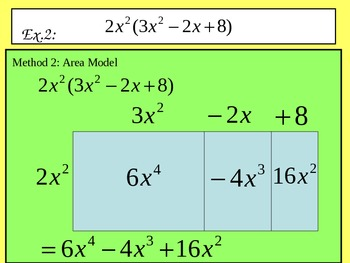 Multiplying Polynomials PowerPoint