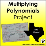Multiplying Polynomials Project