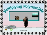 Algebra Power-point:  Multiplying Polynomials with GUIDED NOTES