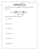 Multiplying Polys-Monomonials by Binomials Using the BOX Method