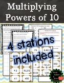 Multiplying Powers of 10 Station Activities