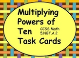 Multiplying Powers of Ten Task Cards