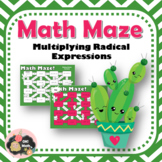 Multiplying Radical Expressions Maze