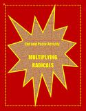 Multiplying Radicals Activity