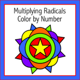 Multiplying Radicals Color by Number
