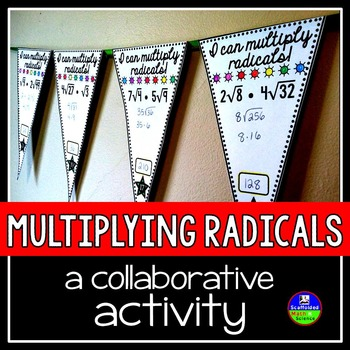 Multiplying Radicals Pennant