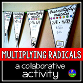Multiplying Square Roots Pennant Activity