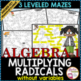 Multiplying Radicals without Variables with Differentiated Levels